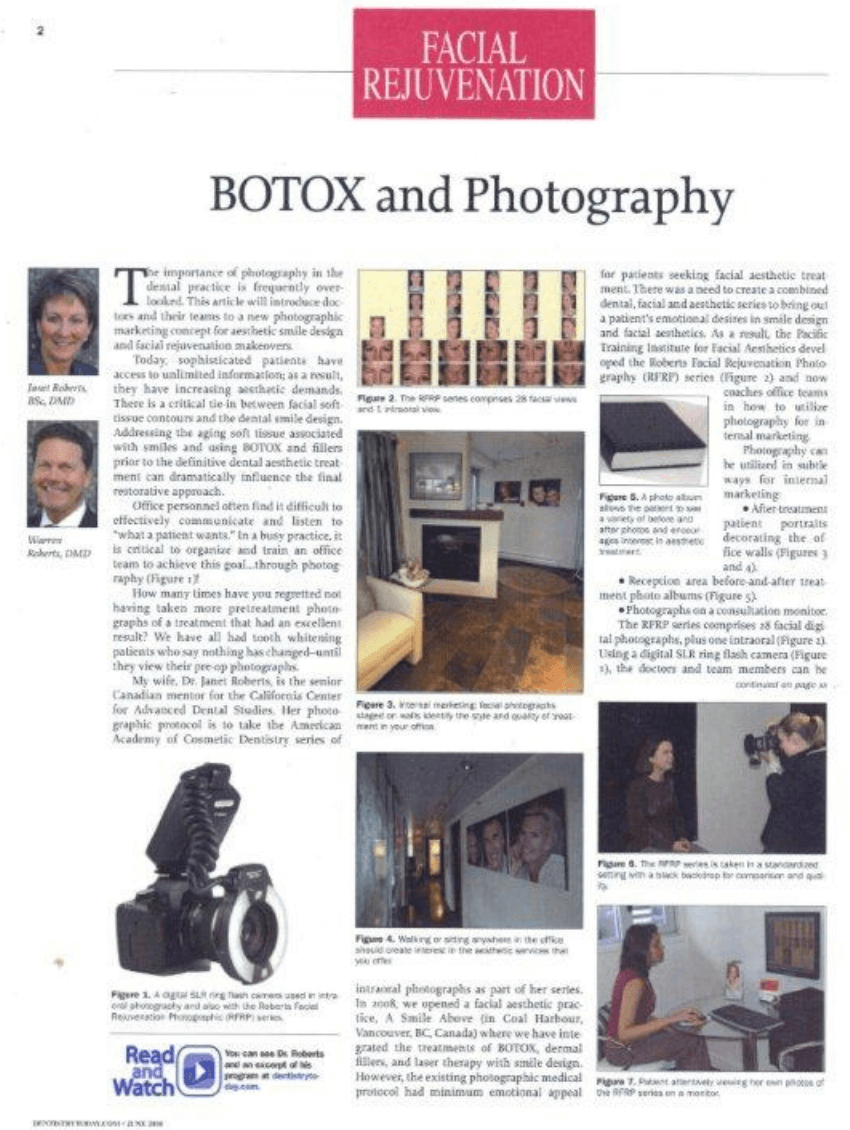 Botox® and Photography