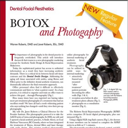 Botox and Photography