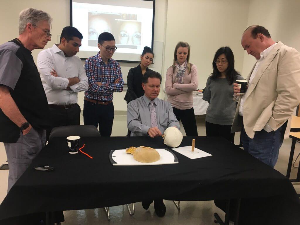 Integrative Cadaver Lab for Botox