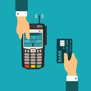 transaction using credit card for payment