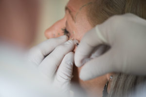 dentist injecting botox on patient in Kelowna