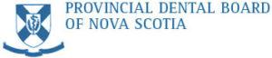 the provincial dental board of nova scotia logo