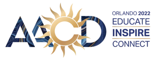 american academy of cosmetic dentistry scientific session logo in Orlando, Florida